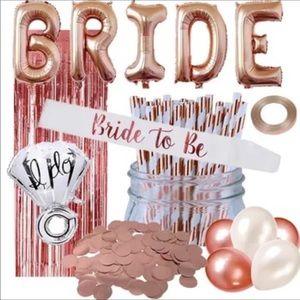 Bachelorette party bridal shower balloons decor